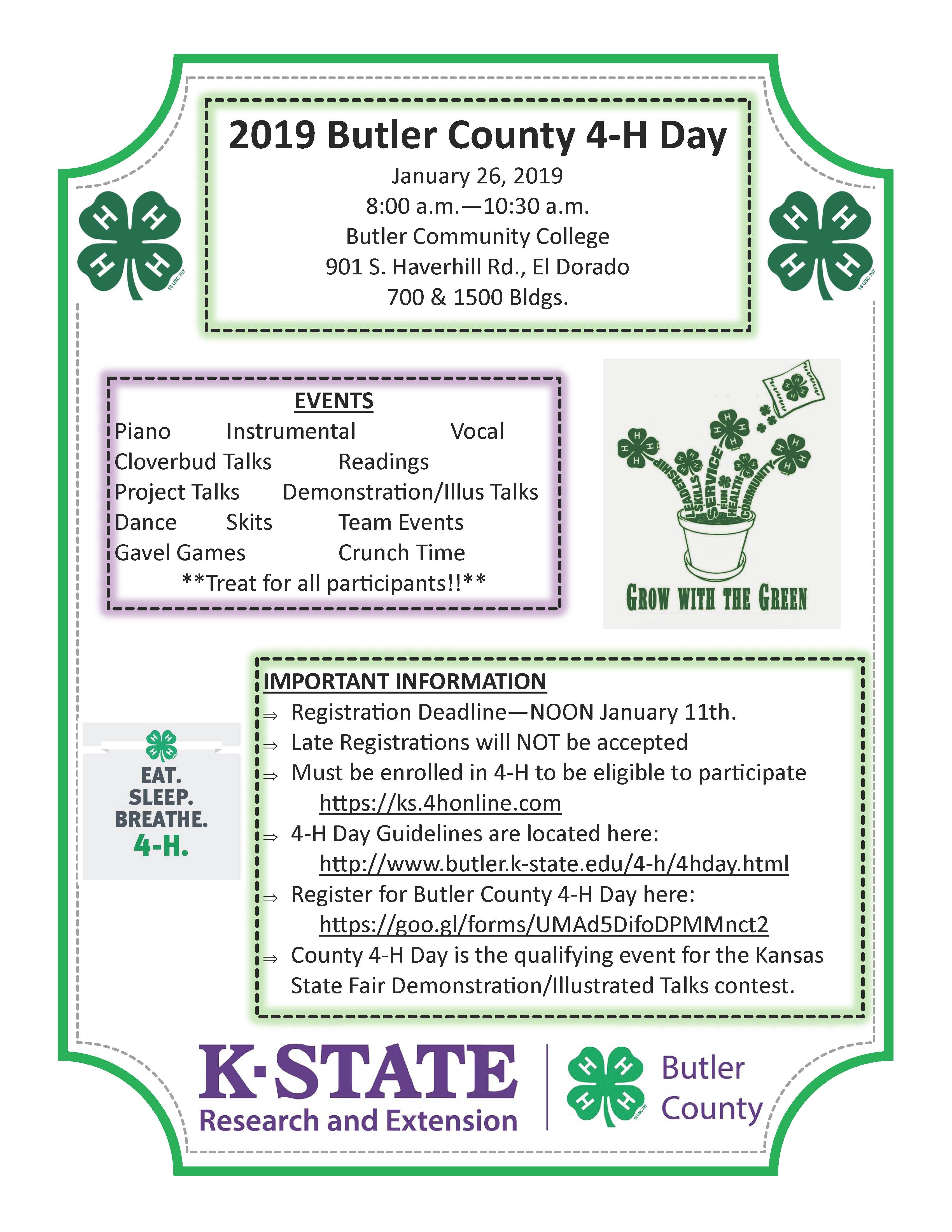 2019 County 4-H Day